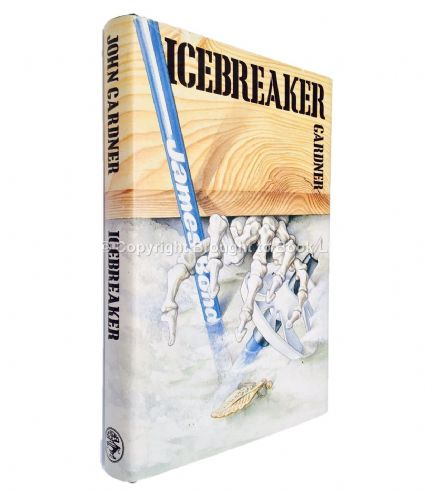 Icebreaker Signed by John Gardner First Edition Jonathan Cape 1983